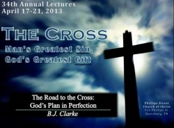 The Road To The Cross God's Plan In Perfection