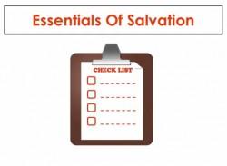 Essentials Of Salvation