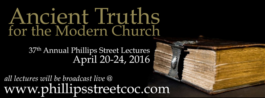 2016 37th Annual Phillips Street Lectures
