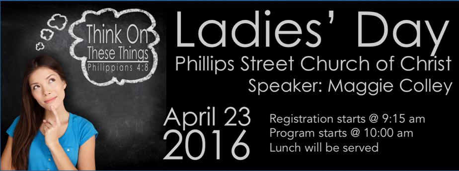 2016 Phillips Street Ladies' Day