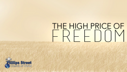 The High Price of Freedom