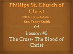 The Cross-The Blood of Christ
