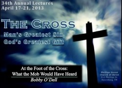 At The Foot of The Cross - What The Mob Would Have Heard