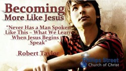 Never Has A Man Spoken Like This - What We Learn When Jesus Begins To Speak