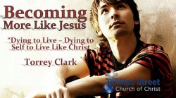 Dying To Live - Dying to Self to Live Like Christ - Torrey Clark